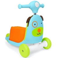 Skip Hop Zoo 3-In-1 Ride On Toy Dog