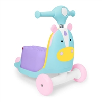 Skip Hop Zoo 3-In-1 Ride On Toy Unicorn