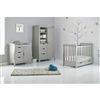 Obaby Mini Stamford 3 Piece Room Set Warm Grey