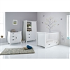 Obaby Stamford 3 Piece Room Set White