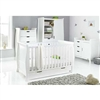 Obaby Stamford Classic 4 Piece Room Set White