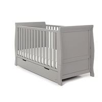 Obaby Stamford Cot Bed Warm Grey