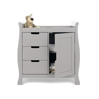Obaby Stamford Changing Unit Warm Grey