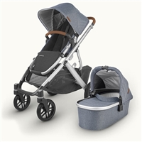 Uppababy Vista V2 Gregory 2020 Travel System With Maxi Cosi Cabriofix & Easyfix Base