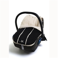 Wallaboo Newborn Footmuff Black