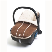 Wallaboo Newborn Footmuff Brown