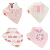 Zippy Bandana Dribble Bibs Girls Cute