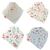 Zippy Bandana Dribble Bibs Girls Delicate Blues