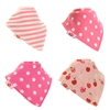 Zippy Bandana Dribble Bibs Pretty Pinks