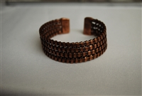 Banjara Basketweave Cuff - Copper