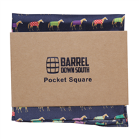 Multi Colored Horse Pocket Square
