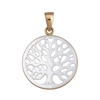 ALlchemia Large Mother of Pearl Tree of Life Pendant
