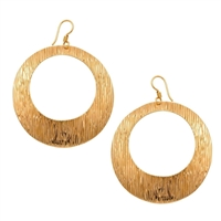 Alchemia Streaked Round Earrings