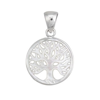 Charles Albert Silver Tree of Life Pendant