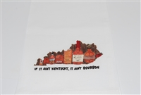 If it ain't Kentucky, it ain't bourbon tea towel