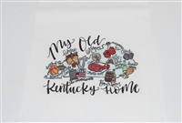 My Old Kentucky Home Tea Towel