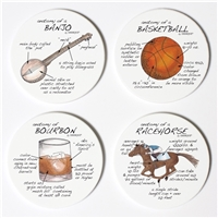 Bluegrass Anatomy Coaster Set