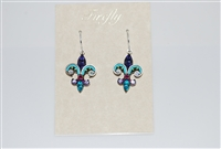 Firefly Fleur De Lis Earrings