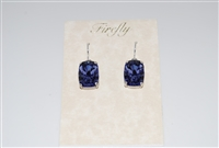 Firefly Barrel Cut Swarovski Crystal Earrings