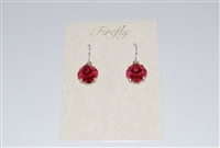 Firefly Cushion Cut Swarovski Crystal Earrin