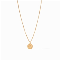Julie Vos Coin Charm Necklace
