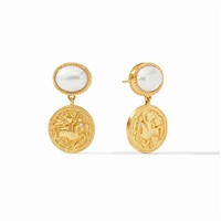 Julie Vos Coin Midi Earrings