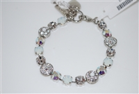"Mariana 8"" Statement Bracelet from the On a Clear Day Collection with Swarovski Crystals and .925 Silver Plated"