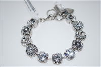 "Mariana ""Sophia"" 8"" Statement Flower Bracelet from the ""A Clear Day Collection"""