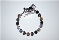 "Mariana ""Bette"" 8"" Swarovski Crystal Tennis Bracelet from the Adeline Collection and .925 Silver Plated"