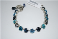 "Mariana ""Bette"" 8"" Tennis Bracelet from the Frost Collection with Swarovski Crystals and Rhodium Plating"