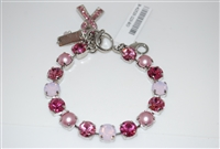 "Mariana ""Bette"" 8"" Crystal Tennis Bracelet Horizon of Hope in rhodium"