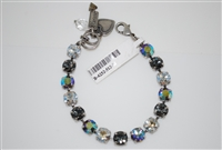 "Mariana ""Bette"" 8"" Swarovski Crystal Tennis Bracelet from the Ice Collection and .925 Silver Plated"