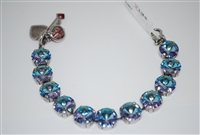St Lucia Rivoli Cut Necklace with Vitral Light Effects Swarovski Crystals
