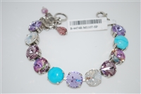 "Mariana ""Promenade"" 8"" St. Lucia Collections, with Large Swarovski Crystals and .925 Silver Plated"