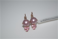 "Mariana  Antigua ""Jubilee"" earring with Swarovski Pearls and Crystals and Rose Gold Plated"