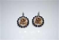 "Mariana ""Jacqueline Earrings"" from the Adeline Collection with Swarovski Crystal and .925 Silver Plated"