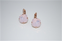 "Mariana ""Bijou"" Drop Earrings with Rose Water Swarovski Crystals with Rose Gold Plating"
