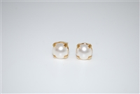 Mariana Swarovski Pearls Gold Plated Post Earrings