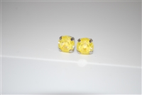 Mariana Swarovski Sunshine Sun Kissed Crystal Rhodium Plated Post Earrings
