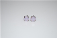 Mariana Swarovski Rosewater .925 Silver Plated Post Earrings