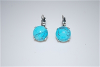 Mariana Turquoise Mineral Stones and .925 Silver Plated