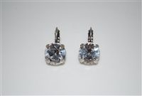 "Mariana ""Monarch"" earring with Clear Swarovski Crystals and .925 Silver Plated"
