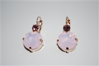 Mariana Karma Earrings with Swarovski Crystals from the Jamaica Collection with Rose Gold Plating