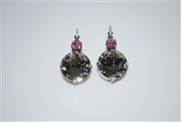 Mariana Karma Earrings with Swarovski Crystals from the Peppermint Collection with Silver Plating