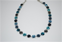 "Mariana ""Bette"" Necklace from the Frost Collection with Swarovski Crystals with Rhodium Plating"