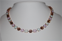 "Mariana ""Bette"" 18"" Necklace from the Tiara Day Collection with Swarovski Crystals and Rose Gold Plated"