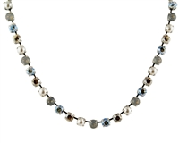 "Mariana ""Bette"" 18"" Necklace from the Champagne and Caviar Collection with Swarovski Crystal and .925 Silver Plated"