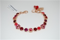 Mariana Dainty Flower Bracelet Firefly Collection in Rose Gold