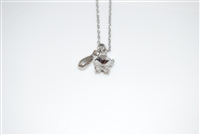 Mariana Swarovski Crystal Star Pendant from the Ice Collection with .925 Silver Plating