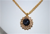 Mariana Goddess Pendant from Adeline Collection in Yellow Gold Plating